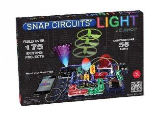Elektromos kísérletező készlet, fények (175 kísérlet, tudományos játék angol nyelvű verzió, 8-99 év)