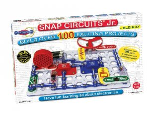 Elektromos kísérletező készlet Junior (sc-100, tudományos játék, 8-99 év)