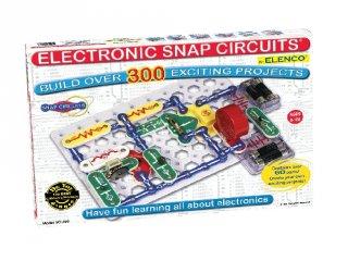 Elektromos kísérletező készlet (sc-300, tudományos játék, 8-99 év)