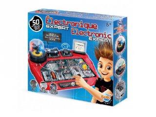 Elektronika készlet, tudományos játék 50 kísérlettel (7160, Buki, 8-14 év)