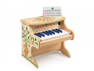 Elektronikus fa zongora (Djeco, 6006, elektronikus piano, 3-12 év)