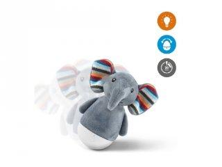 Elli elefánt keljfeljancsi éjjeli fénnyel, gyerekszoba kiegészítő (ZA)