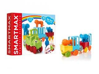 Első cirkuszi vonatom (Smartmax, mágneses építőjáték, 3-7 év)