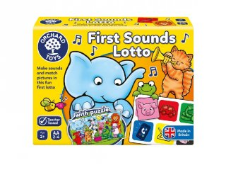 Első hanglottóm, 3 az 1-ben családi társasjáték (OR, 2-5 év)