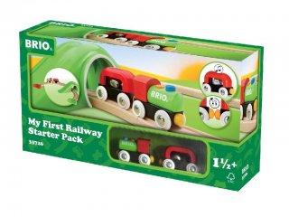 Első kezdőszettem (Brio, vonatos fajáték, 1,5-5 év)