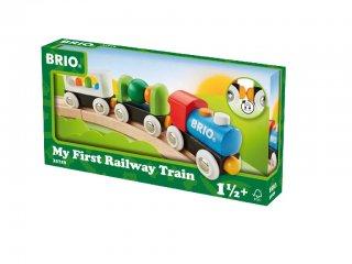 Első kisvonatom (Brio, vonatos fajáték, 1,5-5 év)