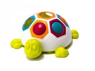 Első színegyeztető teknősöm (FB, készségfejlesztő bébijáték, 1-3 év)