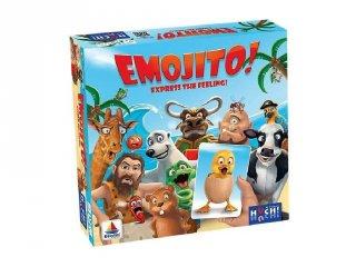 Emojito, vidám családi társasjáték, partijáték (7-99 év)