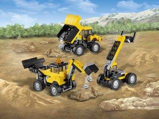 Építési munkagépek (Lego Creator, 31041, 64 db-os, 6-12 év)
