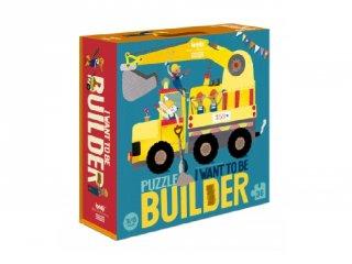 Építőmunkás szeretnék lenni! puzzle, 36 db-os kirakó (3-6 év)