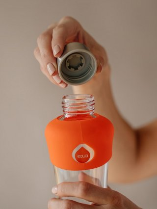 Equa üvegkulacs, Active Tangerine, 550 ml