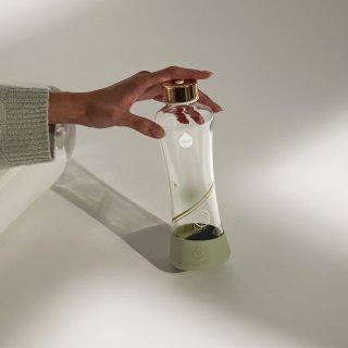 Equa üvegkulacs, Metallic Gold, 550 ml