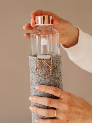Equa üvegkulacs, Mismatch Rose Gold, 750 ml