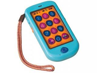Érintőképernyős játéktelefon (B.Toys, szerepjáték kellék, 18 hó-5 év)