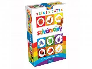 Érzékek sorozat, Szivárvány: játék a színekkel (Granna, színes memóriajáték, 3-10 év)