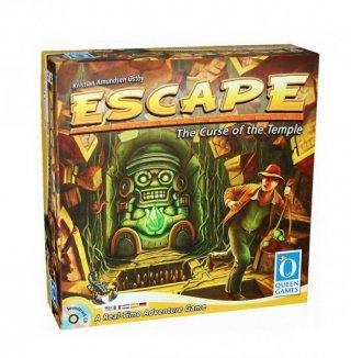 Escape, A templom átka (Piatnik, India Jones-os kooperatív társasjáték, 8-99 év)
