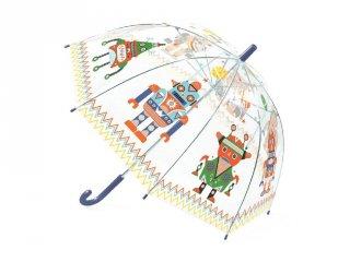 Esernyő, Robotok (Djeco, 4806, gyerek kiegészítő, 4-8 év)