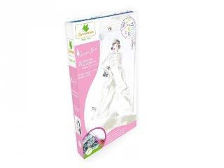 Esküvői ruhák, divattervező kreatív készlet (Sycomore, 7-14 év)