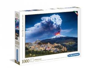 Etna Olaszország puzzle, 1000 db-os kirakó (CLEM, 9-99 év)