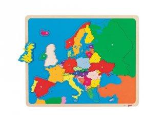 Európa térkép 35 db-os puzzle ( 5-10 év)