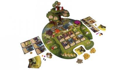 Everdell Az Örökfa árnyékában, stratégiai városépítő társasjáték (14-99 év)