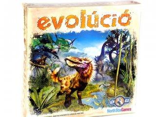 Evolúció (NorthStarGames, evolution, stratégiai társasjáték, 8-99 év)