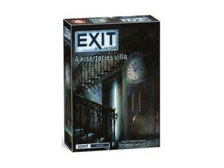 Exit 10. A kísérteties villa, szabadulós társasjáték (kooperatív játék, 12-99 év)