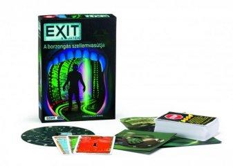 Exit 12. A borzongás szellemvasútja, szabadulós társasjáték (kooperatív játék, 10-99 év)