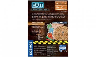 Exit: A játék, A fáraó sírkamrája (taktikai szabadulós társasjáték, 12-99 év)