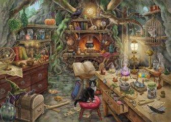 Exit puzzle Boszorkánykonyha, 759 db-os nyomozós kirakó (12-99 év)
