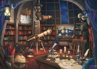 Exit puzzle Csillagvizsgáló, 759 db-os nyomozós kirakó (12-99 év)