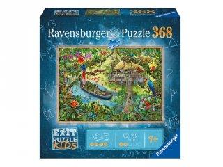 Exit puzzle Kids Dzsungelexpedíció, 368 db-os nyomozós kirakó (9-12 év)