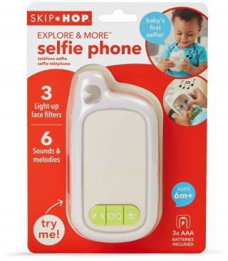 Explore&More Selfie játéktelefon, Skip Hop bébijáték (6 hó-3 év)