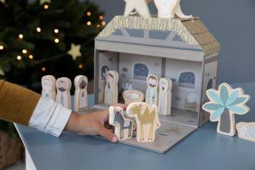 Fa Betlehem, Little Dutch karácsonyi szerepjáték (4499, 18 hó-7 év)