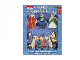 Fa figurák, a kastély lakói, 8 db-os szerepjáték (285, MD, 3-8 év)