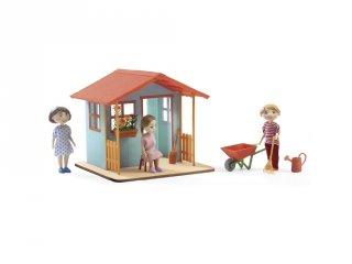 Fa kerti ház (Djeco, 7835, szerepjáték, 4-7 év)