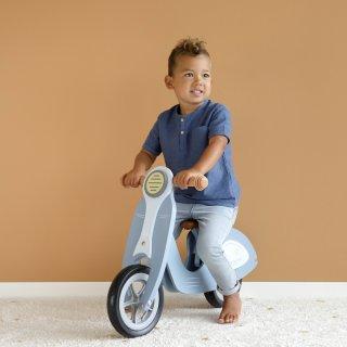 Fa scooter kék, Little Dutch mozgásfejlesztő játék (7004, 2-5 év)