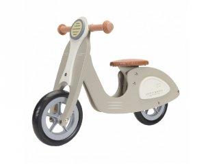 Fa scooter olivazöld, Little Dutch mozgásfejlesztő játék (7005, 2-5 év)