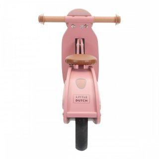 Fa scooter pink, Little Dutch mozgásfejlesztő játék (7003, 2-5 év)