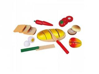Fa szeletelhető reggelifélék (FP, konyhai szerepjáték, 3-8 év)