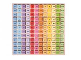 Fa szorzótábla tálcán (Bigjigs, matektanulást segítő eszköz, 6-10 év)