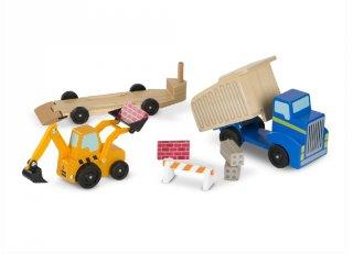 Fából készült munkagépek, 8 db-os készlet (MD, 2757)