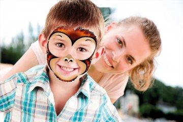 Face Paintoos arcfestés tetoválás csomag, Vadvilág