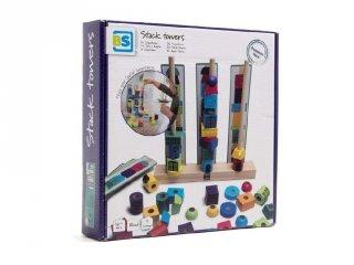 Fagyöngy toronyépítő, logikai építőjáték (BS, 4-7 év)