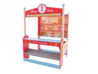Falusi bolt (Bigjigs, fa szerepjáték, 3-7 év)