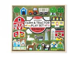 Farm és traktor Melissa&Doug fa szerepjáték (4800)