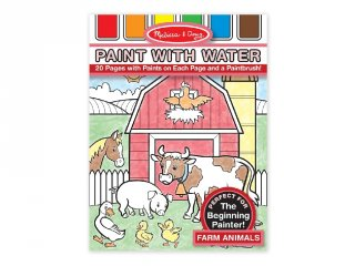Farm, vízzel festős kreatív készlet (MD, 4165)