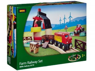 Farm vonatszett (Brio, 33719, vonatos fajáték, 3-10 év)