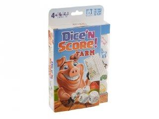 Farm Yatzy, állatos kockapóker (logikai társasjáték, 4-99 év)