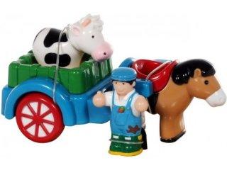 Farmer szekér lóval (Wow Toys, 1-5 év)